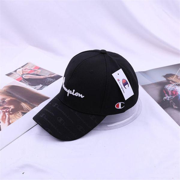 97710123 2019 Champion Letters Embroidery Printed Hats Women Men Snapback Hats  Adjustable Caps Sunscreen Hip Hop Baseball Cap Sunscreen Hat C41103