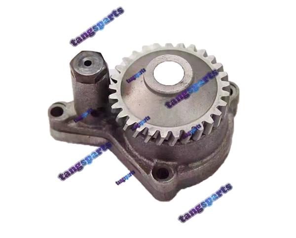 top popular Oil Pump 129407-32000 for KOMATSU 4D84 4D88 A2300-4901216 excavator tractor loader forklift diesel engine kit repair parts 2021