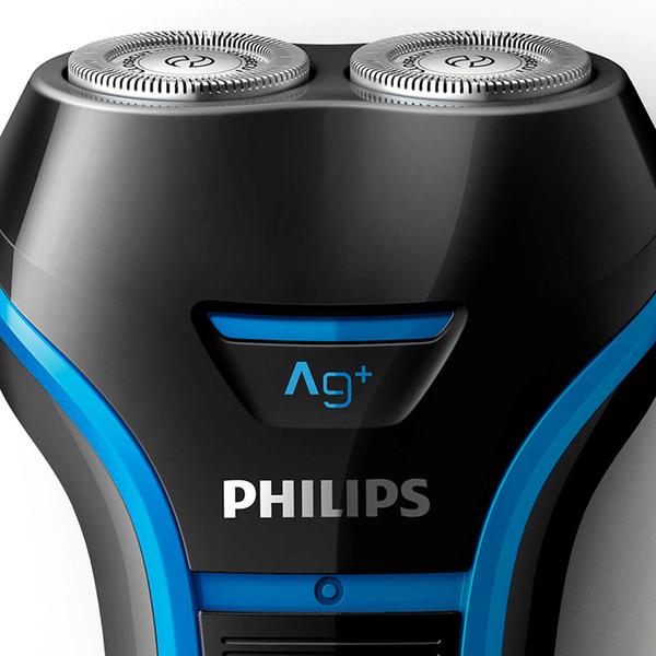 Philips Electrice Бритва S116 с поддержкой Ni-MH батареи Мокрый влажный роторный аккумулятор для мытья всего тела для электробритвы для мужчин