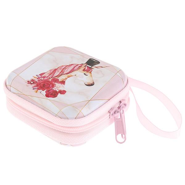 Cartoon Coin Purse Cute Print Small Change Purse Wallet Pouch Bag for Kids Gift Mini Zipper Storage Bag