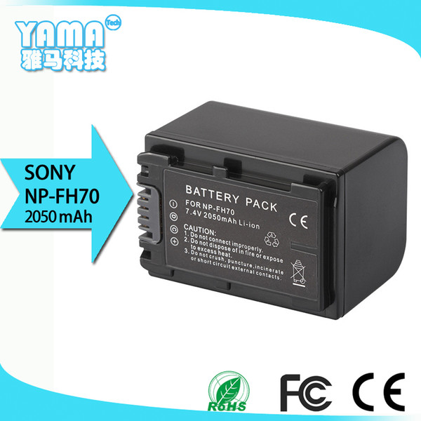 Sony 2050mAh Camcorder digital camera Battery for Sony Np-FH70 New Decoding Battery