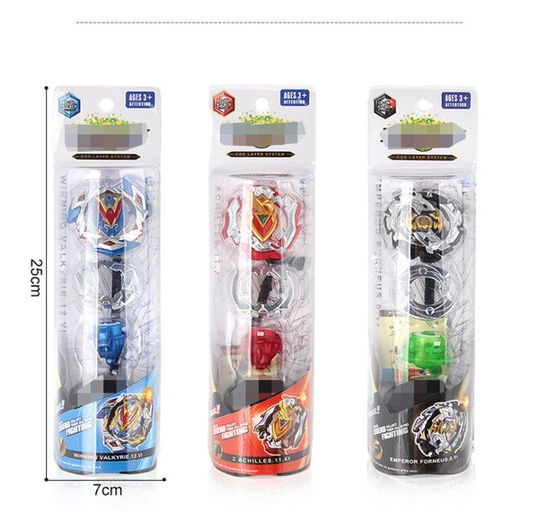 best selling 4D Beyblade Burst Starter Zeno Excalibur B-104 B-105 B-106 With Launcher GYRO And Retail Box Gifts For Kids