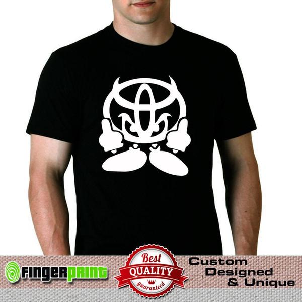 DIABLO COMPRAR camiseta JDM camiseta trd yaris supra starlet gt corolla aygo 4x4 mk Hombre Harajuku Top Fitness Marca Ropa Hombre Imprimir
