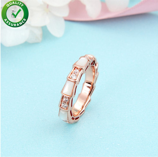 925 Sterling Silver Rings Engagement Wedding Rings Sets Designer Jewelry Women Diamond Love Ring Iced Out Luxury Pandora Style Charms Girl