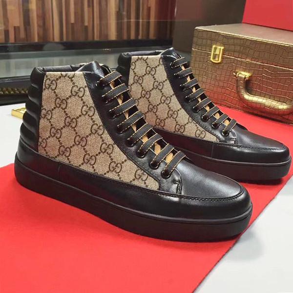 Herrenschuhe Sneakers Fashion High Top mit Originalbox Sportschuhe für Männer Stiefel Fußbekleidung Freizeitschuhe Herren Schuhe von hombre