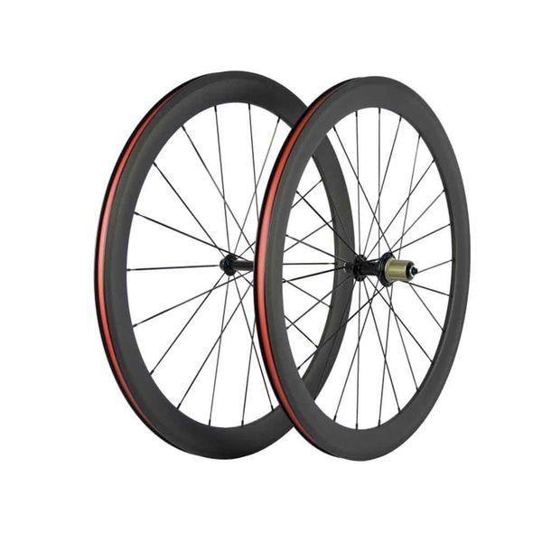 2019 700c 50mm Drahtreifen / rohr / schlauchlos Carbon Rennrad Fahrradräder R13 Naben Säule 1432 Speichen U-Form 25mm Breite DPD XDB