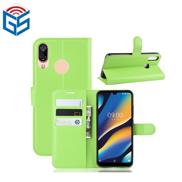For Wiko View 3 Lite Premium PU Leather Flip Wallet Case Cover with Card Holder Wholesale