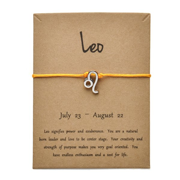 Tarjeta amarilla plata Leo-Gold