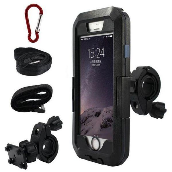 Motorrad fahrrad mountainbike halterung stehen wasserdichte telefon case für iphone x xr xs max 8 plus s9 gps fahrradhalterung unterstützung hdsz030