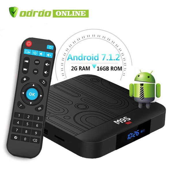 Amlogic S905W M9S W1 Android 7.1 TV Box Quad Core 2GB 16GB Smart Box WIFI 4K Media Player Better X96 TX3 H96 S905X2 T95Q S8 MAX S9 PRO