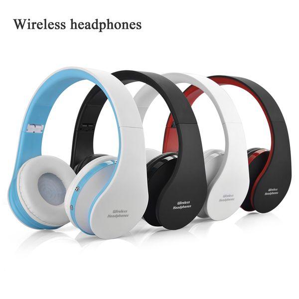 NX-8252 Auriculares inalámbricos plegables auriculares bluetooth para auriculares deportivos con estéreo Bluetooth V3.0 + EDR con envío de DHL gratuito EAR337