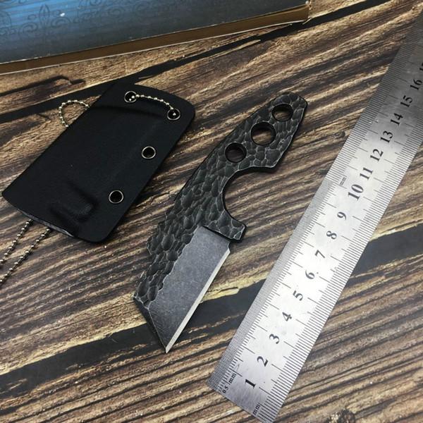 Forge mini knife neck knife Camping defense Tactical Combat Multi EDC tools survival pocket knives gift