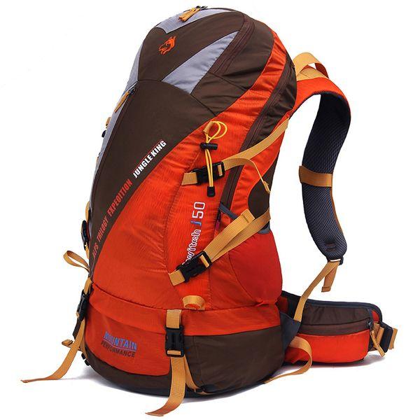 Jungle King 50L новый высокопроизводительный легкий нейлоновый рюкзак открытый профессиональный альпинизм пакет путешествия кемпинг спорт