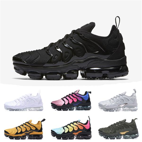 best selling wholesale 2019 TN Plus Trainers 97 Sports shoes for Men Running Shoes Outdoor triple White presto Shock TN Women Designer Zapatos Sneakers