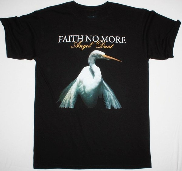 FAITH NO MORE DUST ANGEL HOMME NOIR T SHIRT MIKE PATTON MR.BUNGLE FANTOMAFunny livraison gratuite Unisexe Casual Tshirt