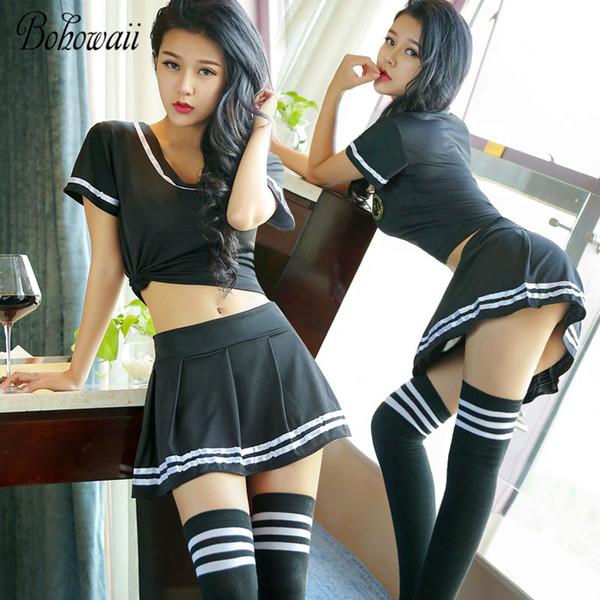 best selling 4XL Plus Size Set Classic Pure School Girl Costume Cheerleader Bunny Dirndl Korean Japanese Disfraz Sexy Cosplay School Uniform
