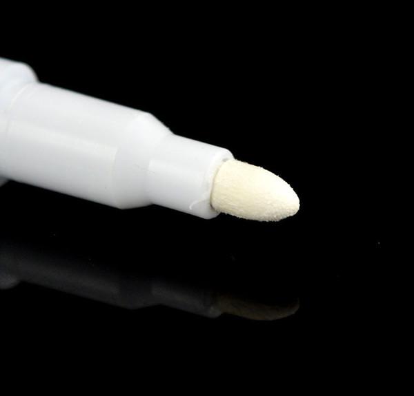 top popular White Liquid Chalk Pen Marker For Glass Windows Chalkboard Blackboard New 10pcs 2020