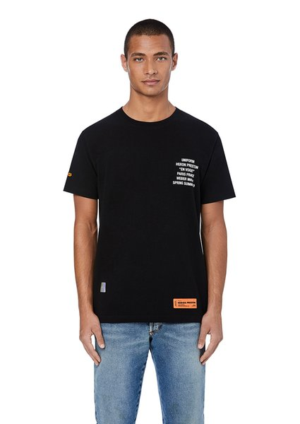 Heron Preston Women Fashion Picture Print Tshirts Short Sleeve Crew Neck Casual Clothing Popular Young People Style Tees