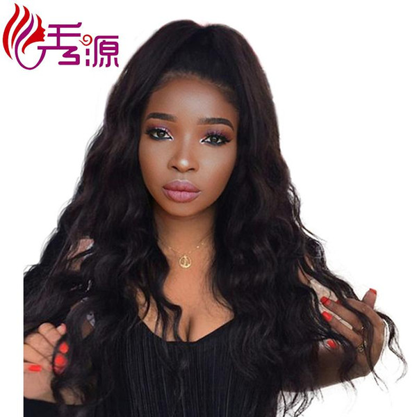 Xiuyuanhair Body Wave Virgin Remy Human Hair Lace Front Wigs Brazilian Natural Color Body Wave Lace Front Wigs Can Colored Free Shipping