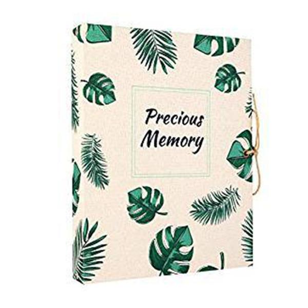 Memoria Páginas negras Presenta un diario de viaje de hojas sueltas hecho a mano Borrador álbum de fotos de recargables Cumpleaños artesanal recargable