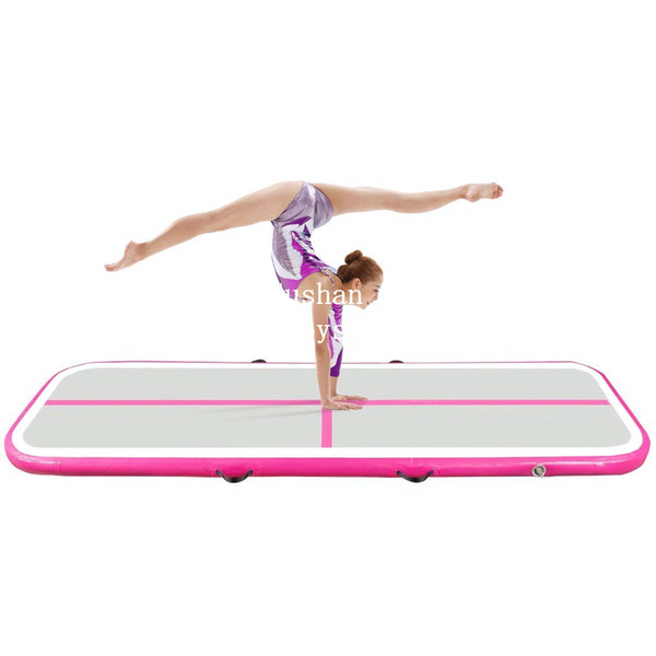 Free Shipping 2*1*0.2m Gymnastics Mat Inflatable Tumble Track Inflatable Air Track For Sport Training