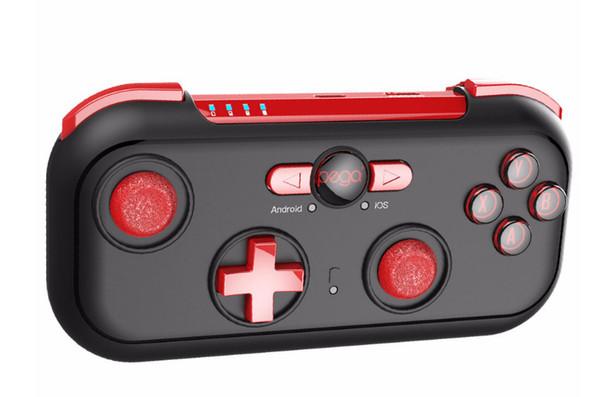 Contrôleur de jeu Intelligent Sans fil Joystick Bluetooth Android Gamepad Gaming Télécommande Android / iOS Téléphone