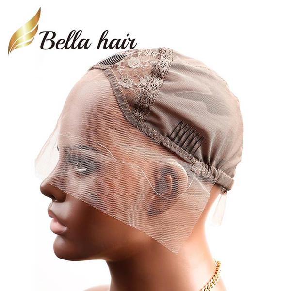 Brown & S & Front Lace Cap
