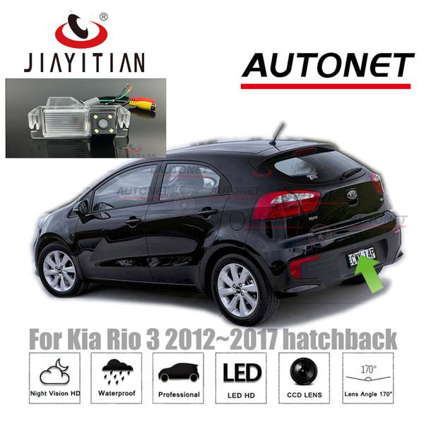 JiaYiTian caméra arrière pour Kia Rio R UB pour Kia Fierté 2012 ~ 2017 CCD Night Vision licence de caméra de recul voiture de sauvegarde de la plaque