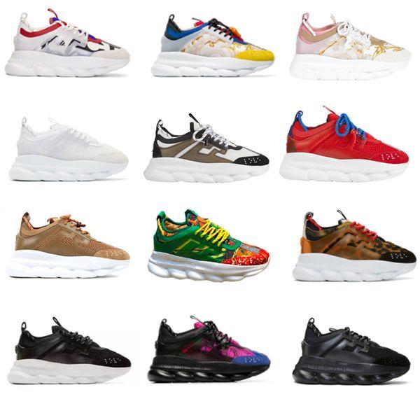 Großhandel Chain Reaction Sneakes Designer Sneakers Herren Damen Sportschuhe Leder Freizeitschuhe Trainer Leichte Sohle Mit Box Von Tbtgroup, $73.1