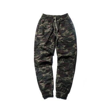 Il trasporto libero 2019 moda stilista stile uomo bionico gamba mimetica tuta hip-hop da uomo camouflage pantaloni casual stile punk pantaloni hip hop