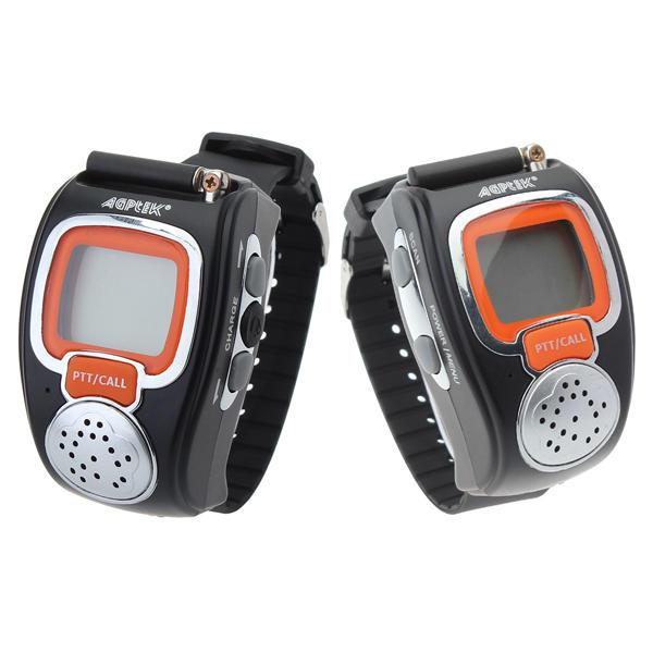 best selling 008 0.5W Two Way Radios Sport Watch Mini Walkie Talkie Pair