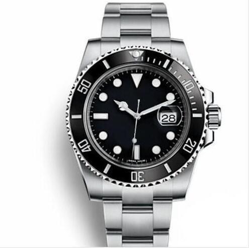 Nuevo Bisel de cerámica Para hombre Mecánica Acero inoxidable Automático 2813 Relojes de movimiento Reloj deportivo Reloj de cuerda automática Relojes luminosos
