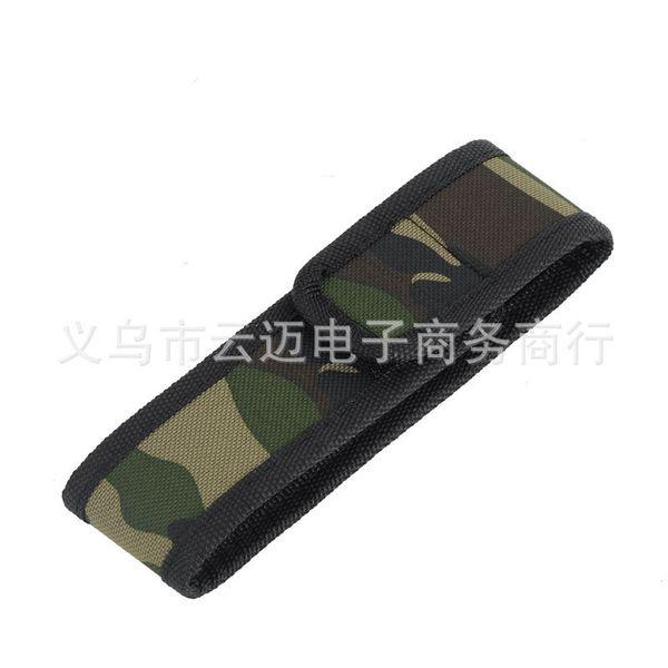 Light Flashlight Special-purpose Cloth Set Nylon Cloth Set Camouflage Cloth Set Flashlight Protect Sheath