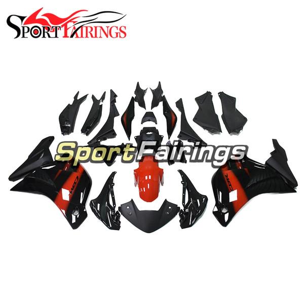 Carénages complets pour Honda CBR250RR 2011 - 2014 Année CBR250 RR 11 12 13 14 Capots en plastique ABS Capots de carrosserie recouverts de cadres noirs et rouges