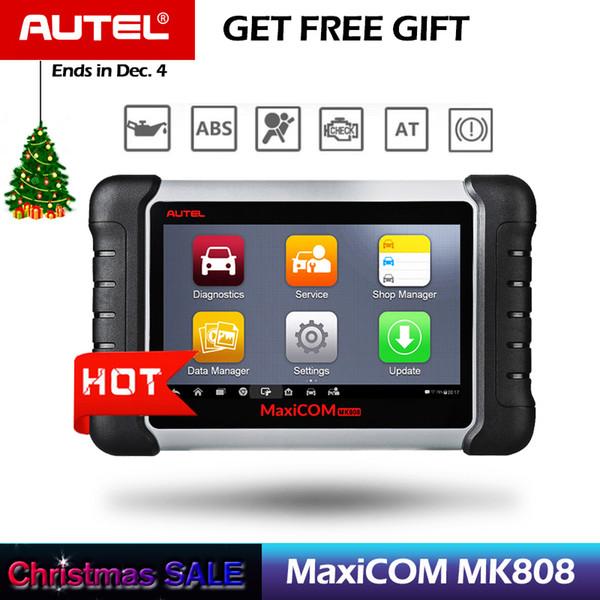 Autel MaxiCOM MK808 OBD2 Scanner with Oil Reset, EPB, BMS, SAS, DPF,TPMS ,key programming (MD802+MaxiCheck Pro)PK MX808