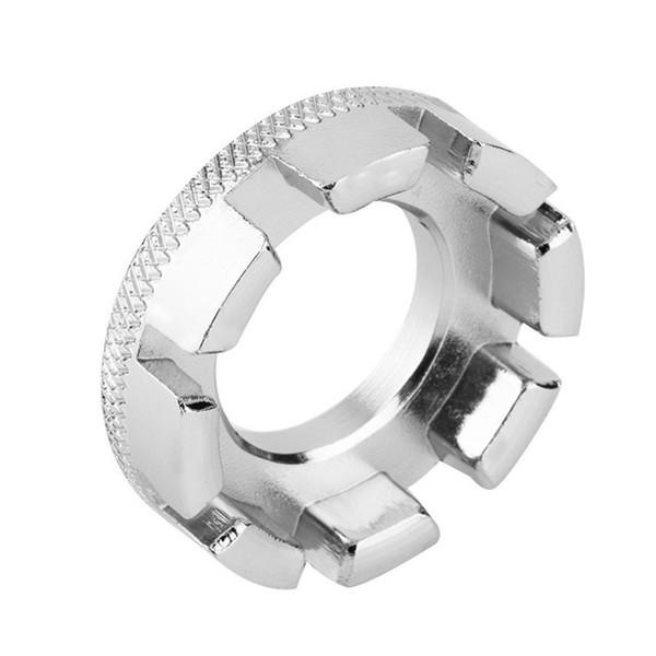 Bicycle spoke wrench tool 8 Way Spoke Nipple Key Bike Cycling Wheel Rim Spanner Wrench Repair Tool Accessories #2M30