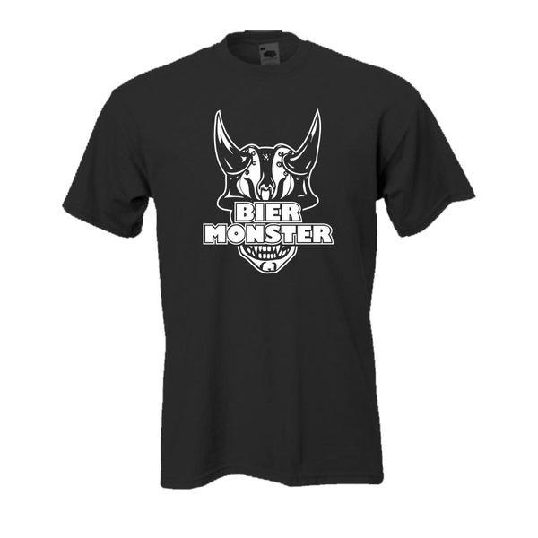 Compre Bier Monster Fun T Shirt Witzige Funshirts Lustige Sprüche Shirts Fsb029 Divertido Envío Gratis Unisex Casual Camiseta Top A 1296 Del