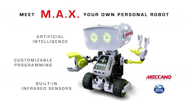NEW Sealed MECCANO MAX ROBOT Engineering and Robotics Artificial Intelligence