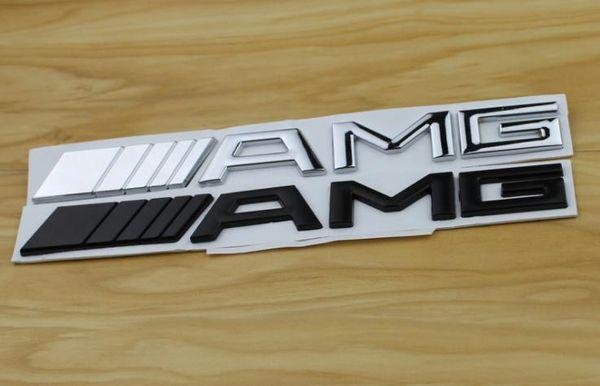 Chrome 3D /// AMG Chrome Trunk Letters Badge emblema adhesivo para Mercedes Benz AMG