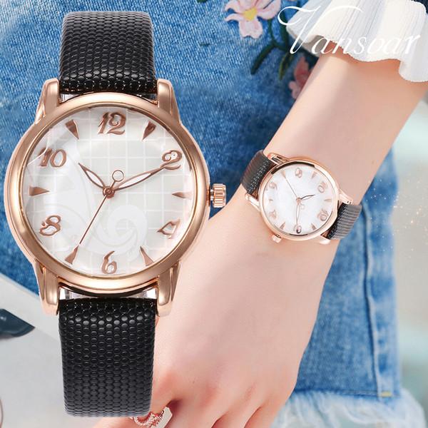 Großhandel Vansvar Marke Quarzuhren Für Frauen Uhren Uhr Geschenk Luxus Lederband Armband Damen Armbanduhr Reloj Mujer W Von Winterleng 377 Auf