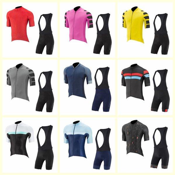 CAPO équipe cyclisme manches courtes jersey cuissard ensembles vêtements pour hommes extérieur vtt vélo sportswear U72210