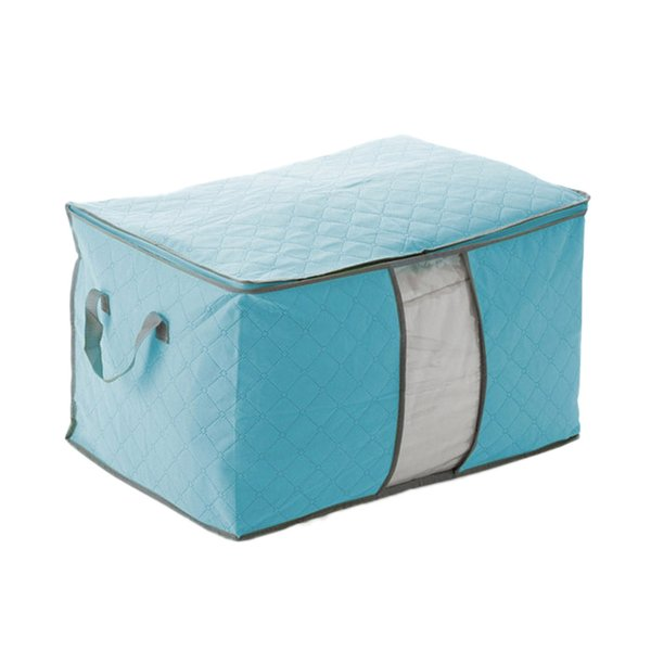 Pouch Organizer 3 Colors 2 Sizes U Pick Foldable Storage Bag Clothes Blanket Pillow Quilt Closet Sweater Box