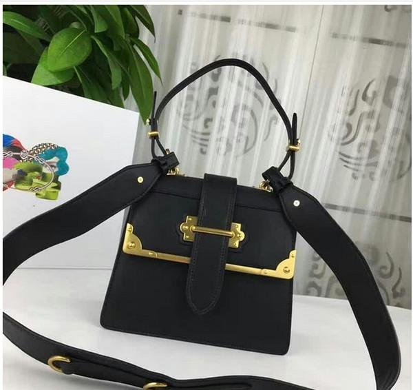 2019 Date Top qualité en cuir véritable femmes sacs à main 22 cm taille célèbre designer épaule sac à bandoulière bicolore dame sac