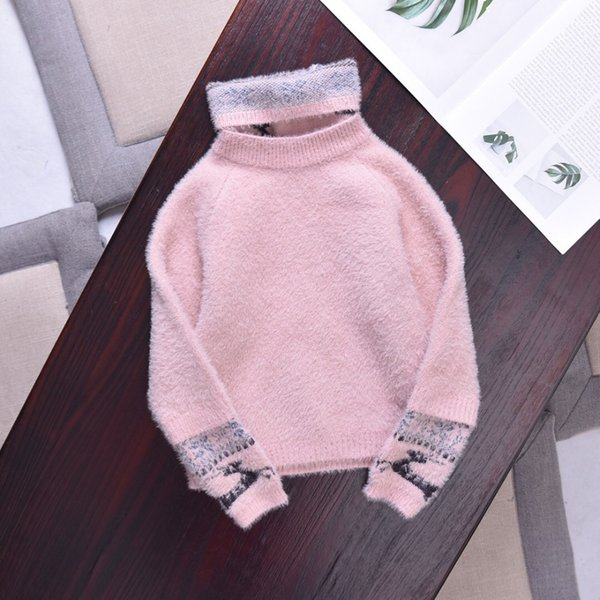 e479345bf6d New Fashion 2015 Autumn Winter Children Knitted Sweaters Cape Cute ...