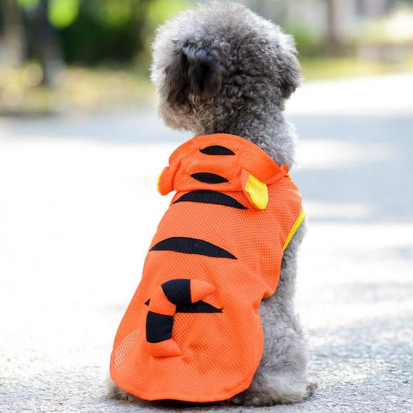 Pet dog supplies mesh vest new pet summer dog clothes summer breathable sports cooling dog vest