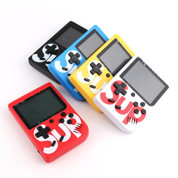 In Stock!!! SUP Mini Handheld Game Console Retro Portable Game Console Can  Store 400 Games 8 Bit Cradle Design Pc Portable Game Pc Portable Gaming