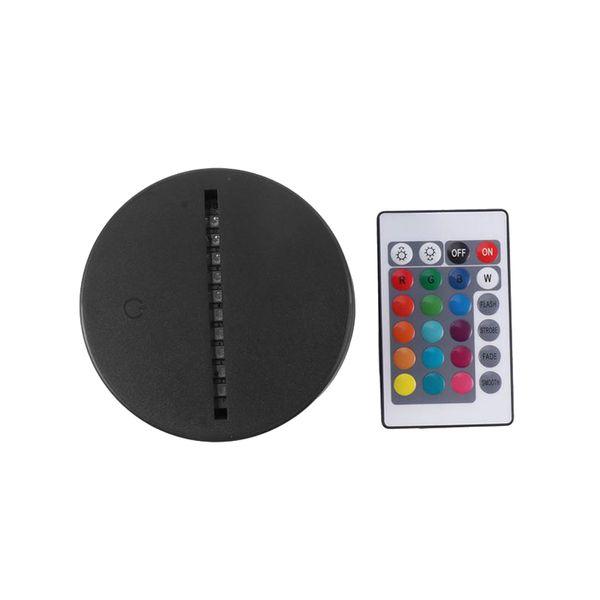 USB Kabel Touch Lampensockel Für 3D LED Nachtlicht Ersatz Bunte Licht Basis Tisch Hochzeit Weihnachtsdekor Halter