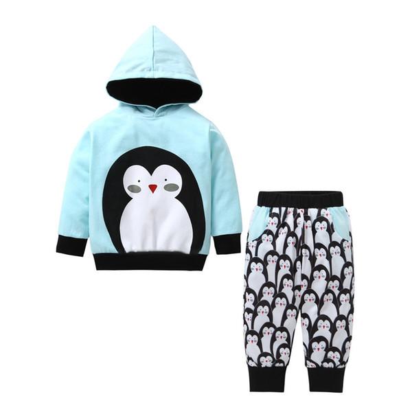 fd9b81b73 2019 Good Quality Kids Clothes Set Baby Boy Winter Clothes Cartoon ...