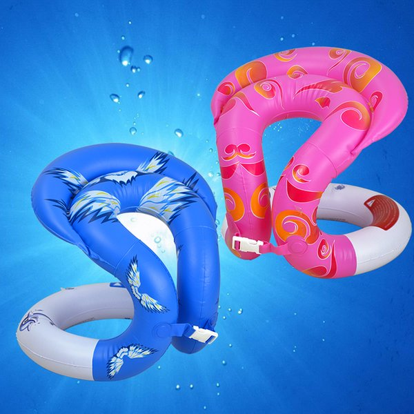 Hot Sales Back PVC Life Jacket Summer Wearable Floating Tube Rings Pool Water Swimming Inflatable Security Vest