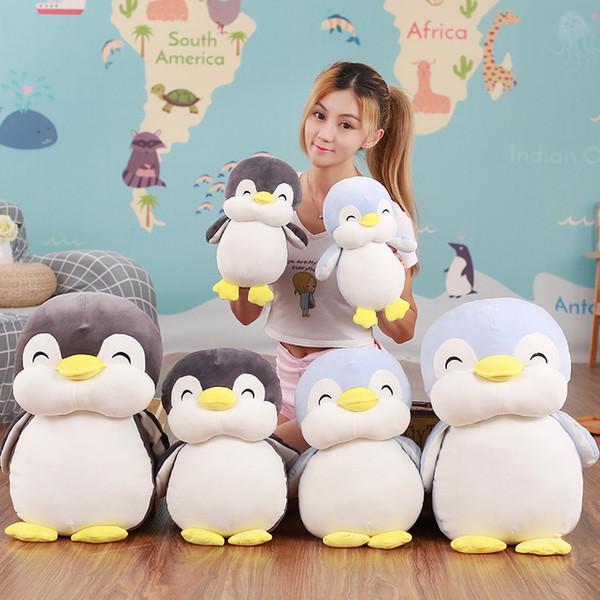 8pc 30cm Soft fat Penguin Plush Toys Staffed Cartoon Animal Doll Fashion Toy for Kids Baby Lovely Girls Christmas Birthday Gift